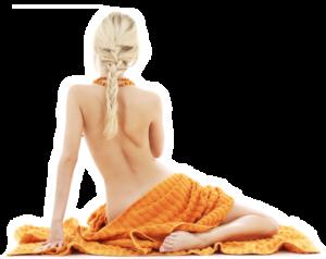 Tantra masáž sediaca žena